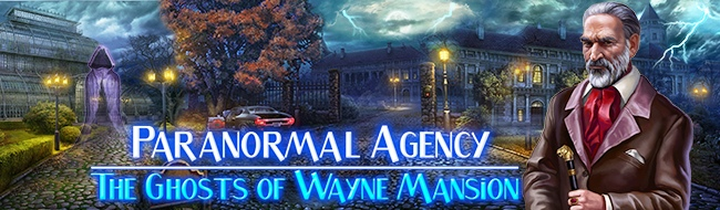 Paranormal Agency®: The Ghosts of Wayne Mansion HD