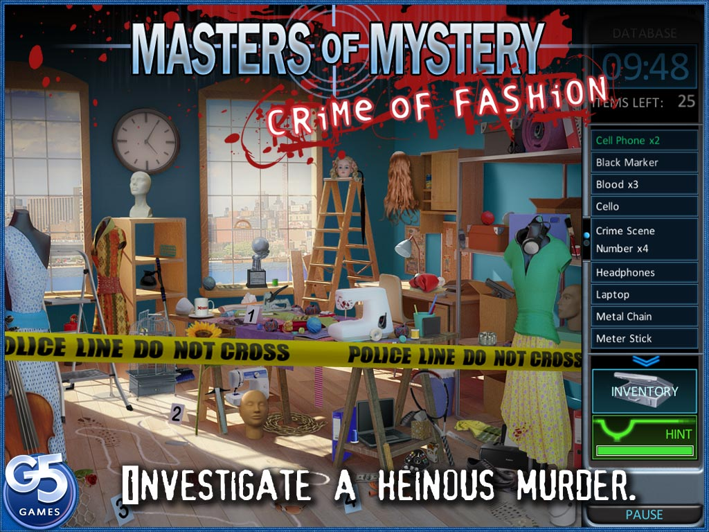 Masters of Mystery: Crime of Fashion HD